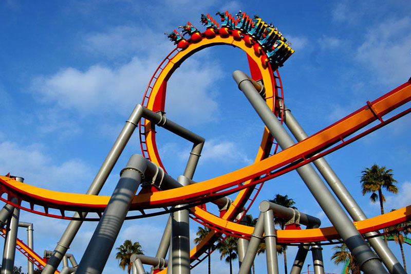 Image of ride at KNotts berry farm buena park